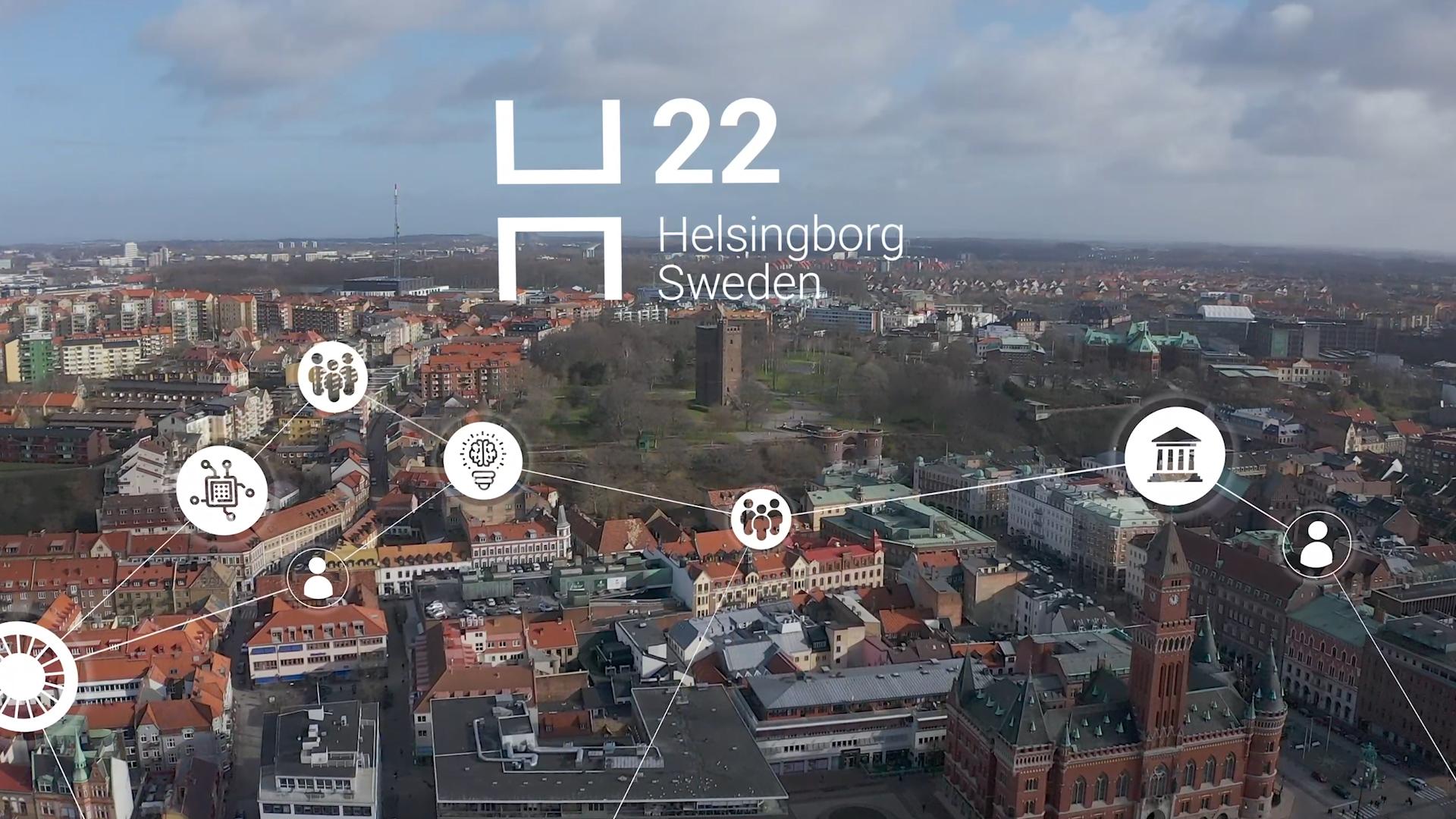 H22 smart city miniatyr